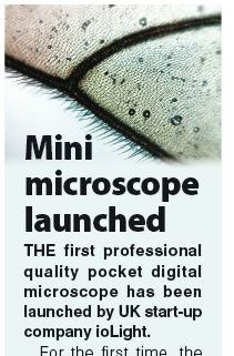 Mini microscope launched