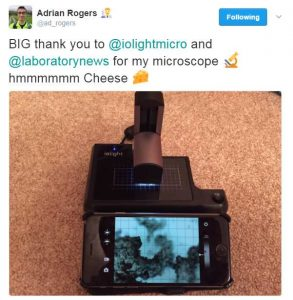 ioLight microscope competition winner