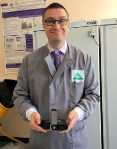 Field microscope prize winner, Adrian Rogers
